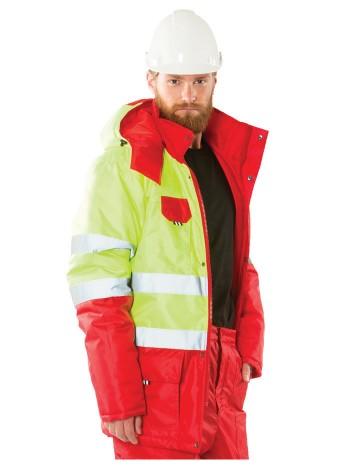 Куртка сигнальная утепленная ВИЗАРД 2