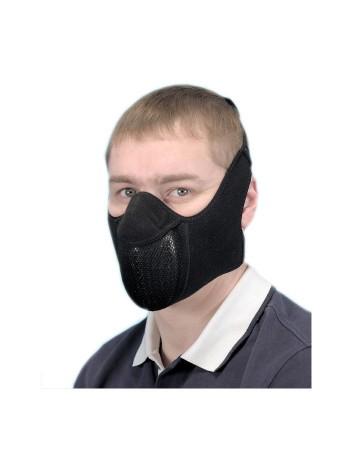 """Тепловая маска """"Полумаска с двумя креплениями"""""""