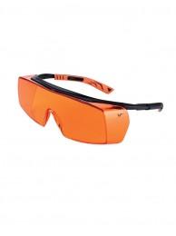 Очки защитные 5X7 оранжевые