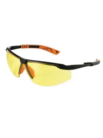 Очки защитные 5X8 желтые