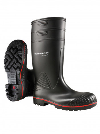 Сапоги Dunlop Acifort Heavy Duty full safety S5 SRA