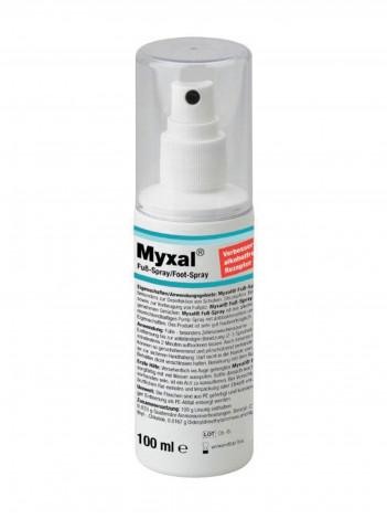 Спрей для ног MYXAL